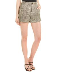 Joie Abreal Leather Short - Brown