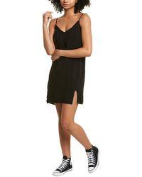 n:PHILANTHROPY Calvin Slip Dress - Black