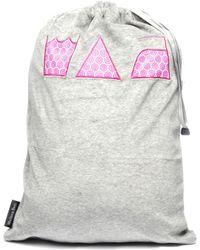 Melissa Beth - Gray Laundry Bag - Lyst