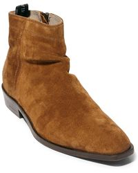 AllSaints Allsaints Harris Suede Boot - Brown