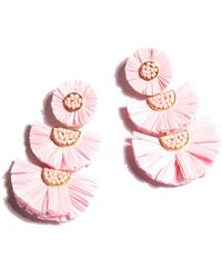 Shiraleah Gaetana Earrings - Pink