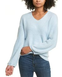 Fate Fuzzy Sweater - Blue