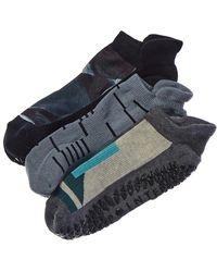 Pointe Studio - Pack Of 3 Grip Ankle Socks - Lyst