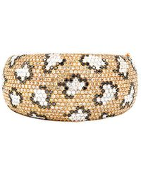 Diana M. Jewels . Fine Jewellery 18k Rose Gold 23.55 Ct. Tw. Diamond Bangle - Metallic