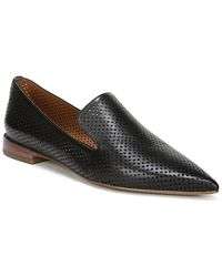 Franco Sarto Topaz Leather Loafer - Black