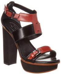 Tod's Leather Sandal - Black