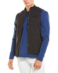 Rhone Bond Fleece Vest - Black