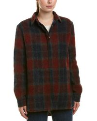 Valentine Gauthier Billie Plaid Button Down Top - Multicolour