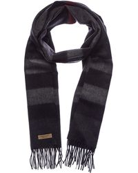 Burberry - Large Classic Check Cashmere Scarf - Lyst