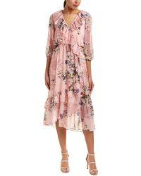 Trendyol Midi Dress - Pink