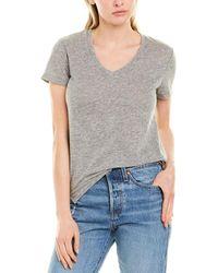 Stateside High-low T-shirt - Grey