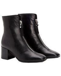 Aquatalia - Camden Waterproof Leather Bootie - Lyst