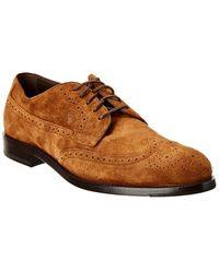 Tod's Tod?s Suede Oxford - Brown