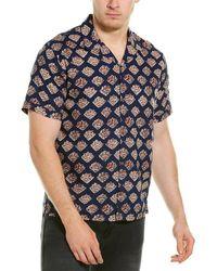 Raga Woven Shirt - Blue