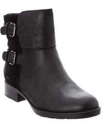Söfft Comfortiva Vardel Leather Bootie - Black