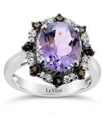 Le Vian ? 14k 3.44 Ct. Tw. Diamond & Pink Amethyst Ring - Multicolor