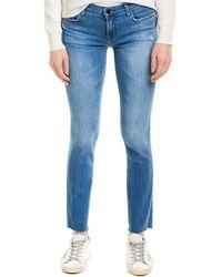 J Brand Mid-rise Icon Skinny Leg - Blue