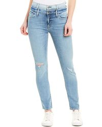 Hudson Jeans Holly Provoking High-rise Crop Skinny - Blue