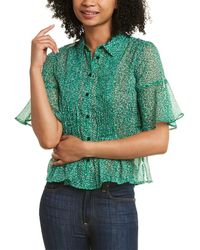 French Connection Alving Top - Green