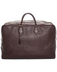 Hermès Brown Togo Leather Victoria