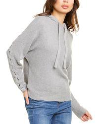 27milesmalibu Trish Cashmere-blend Hoodie - Grey