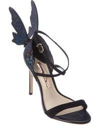 Sophia Webster Talulah Leather Sandal - Black