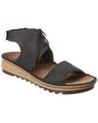 Naot - Alpicola Wedge Leather Sandal - Lyst