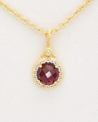 Judith Ripka - La Petite 14k Over Silver 1.97 Ct. Tw. Gemstone Necklace - Lyst