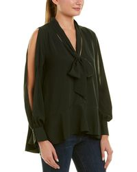 French Connection - Classic Crepe Top - Lyst
