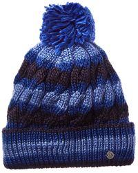 Spyder Kaleidoscope Hat - Blue