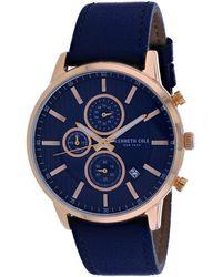 Kenneth Cole Classic Watch - Blue