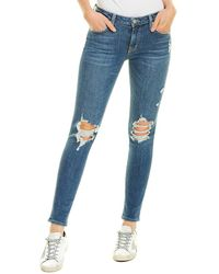 Lovers + Friends Lovers + Friends Ricky Crescent Skinny Leg - Blue