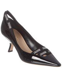 Dior J'a Patent Pump - Black