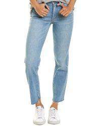 Habitual Marina Ankle Cut Trouser - Blue