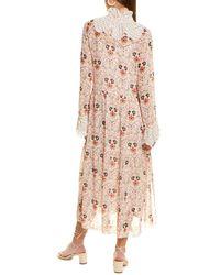 See By Chloé 2pc Floral Maxi Dress Set - White