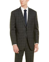 Brooks Brothers - Madison Fit Wool Suit With Flat Pant - Lyst