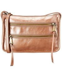 Hobo Mission Leather Crossbody - Brown
