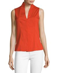 Akris - Zinnie Tunic Top - Lyst