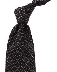 Hermès Silk Tie - Black