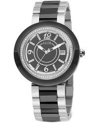 Alor Women's 43mm Two-tone Diamond Cavo Watch - Metallic