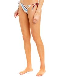 FRAME Bisset Bikini Bottom - Blue