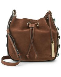Vince Camuto - Cab Leather Bucket Bag - Lyst