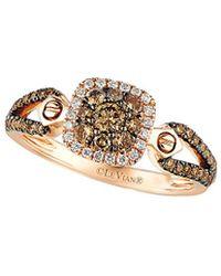 Le Vian - ? 14k Rose Gold 0.62 Ct. Tw. Diamond Ring - Lyst
