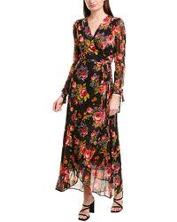 Betsey Johnson Wrap Dress - Black