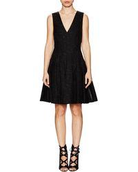 Thakoon - Seamed V-neck A-line Dress - Lyst