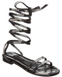 Newbark Rosa Leather Sandal - Black