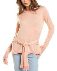 Maje Meryla Wool Sweater - Pink