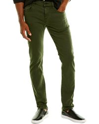 7 For All Mankind 7 For All Mankind Paxtyn Army Skinny Leg Jean - Green