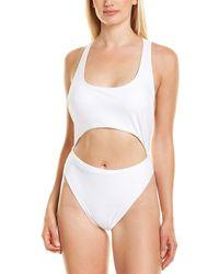 Rachel Roy Tankini One-piece - White