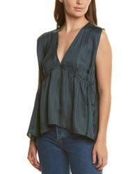 Halston Cinched Top - Green